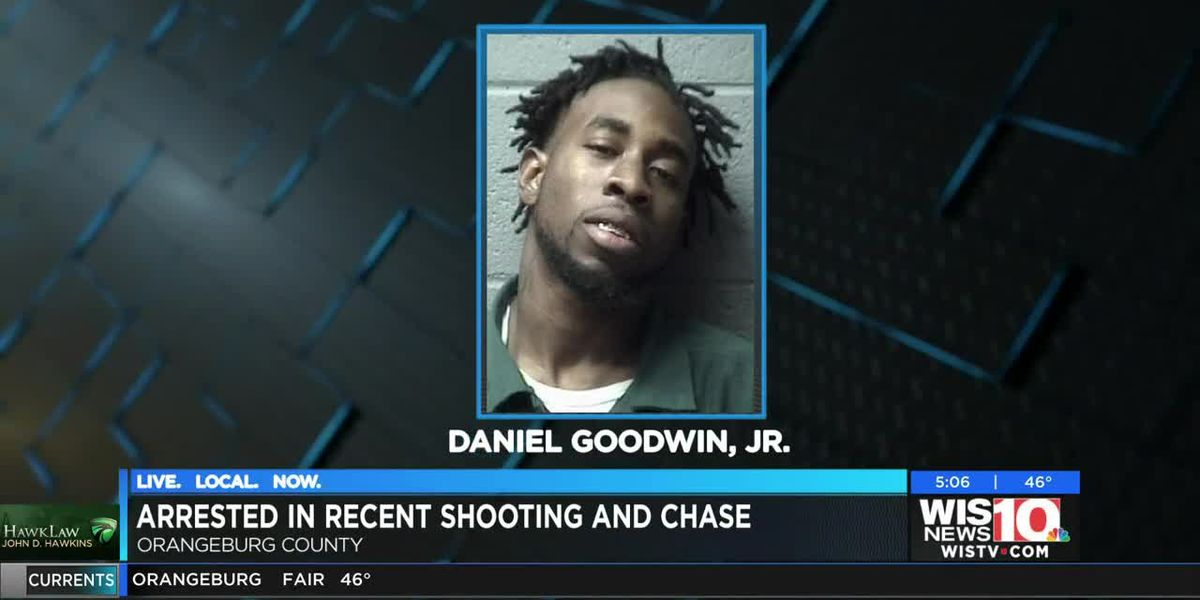 Man arrested in recent shooting and chase