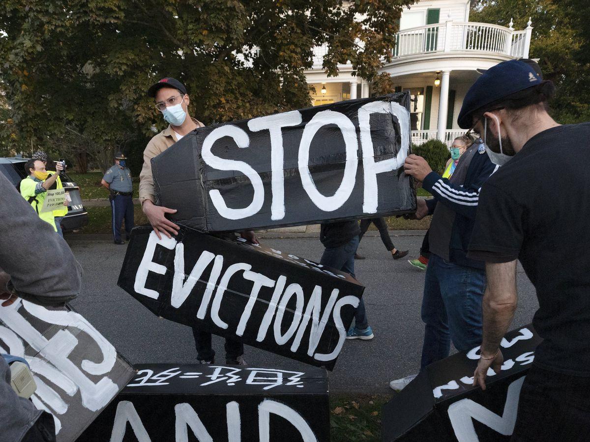 Justice Dept. to appeal judge's order on eviction moratorium