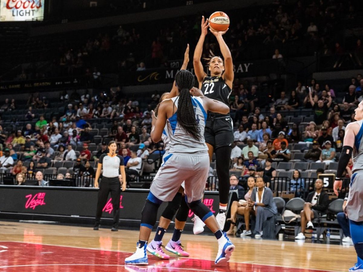 WNBA Rookie of the Year A'ja Wilson sets milestone with first big endorsement