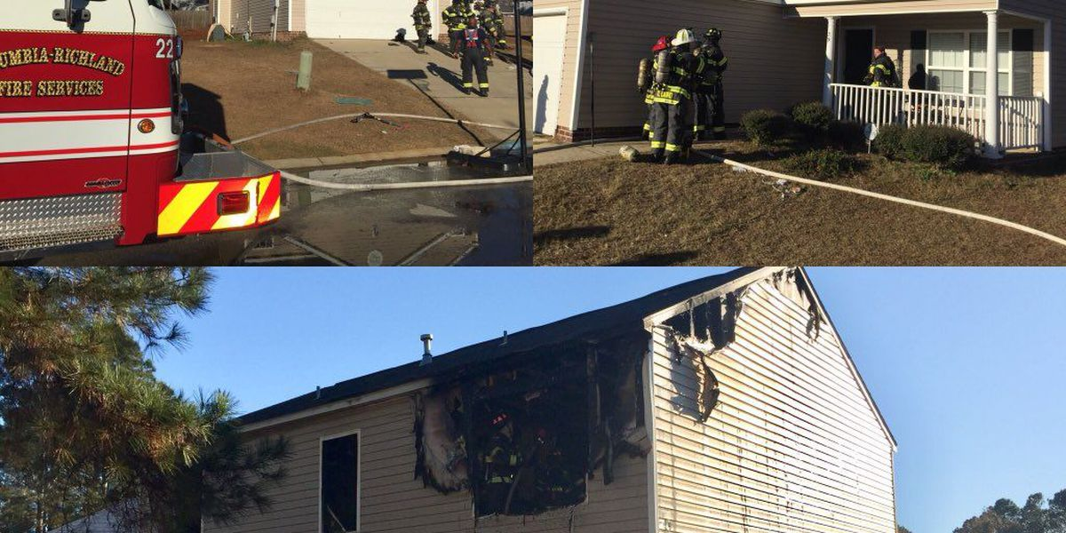 CFD: Fire that displaced 5 caused by child playing with a lighter