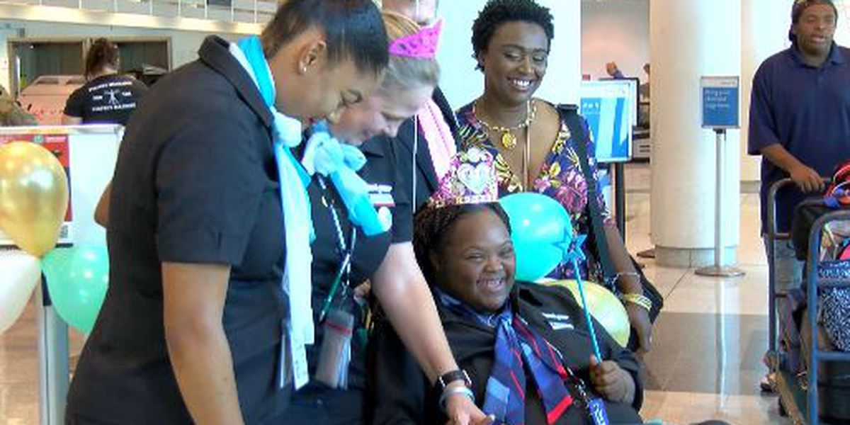 American Airlines names jet after Columbia teen with special needs, facing grim diagnosis