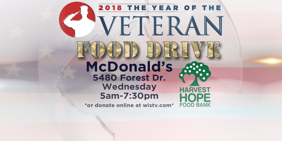YEAR OF THE VETERAN: Join us for our veterans food drive with Harvest Hope on Oct. 3