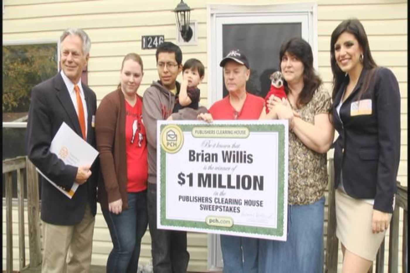 Lexington man wins $1M in Publishers Clearing House Sweepstakes