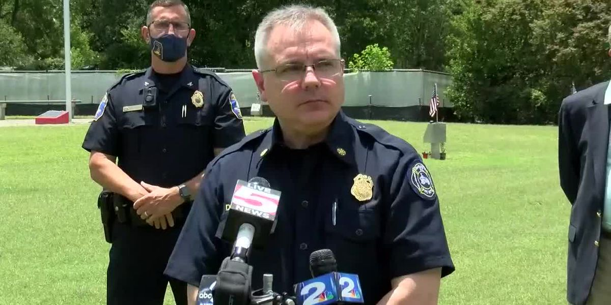 RAW VIDEO: Authorities hold news conference on firefighter memorial vandalism