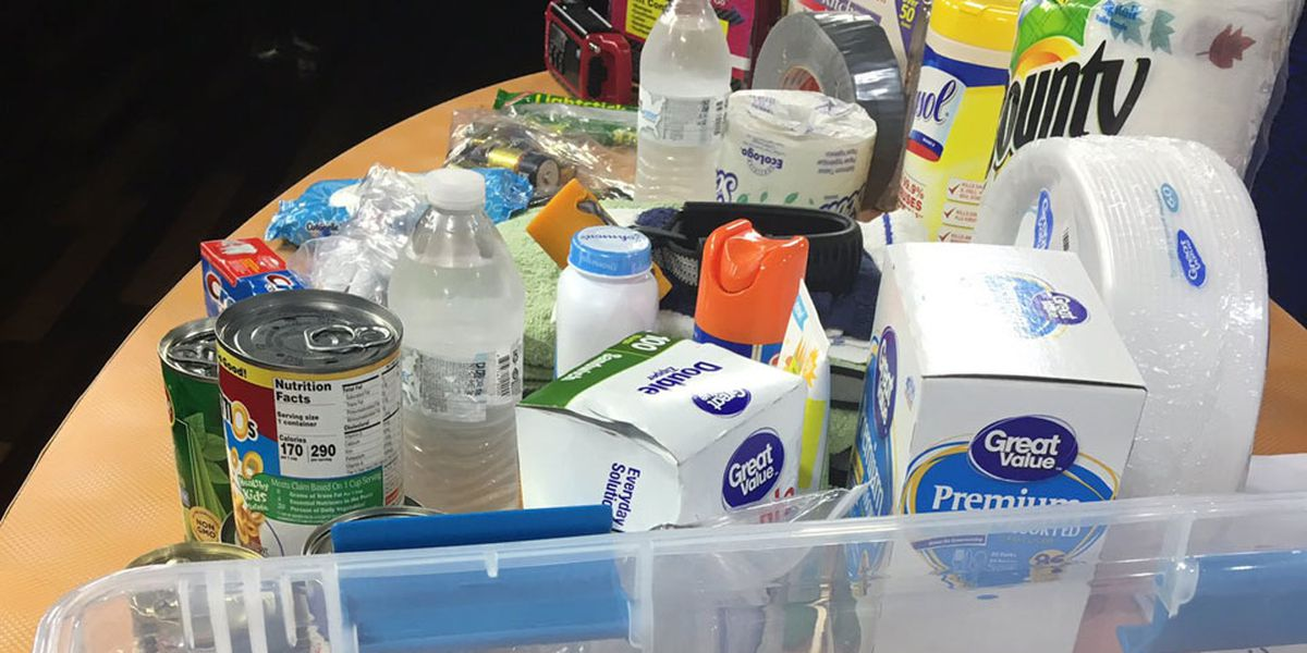 Do you have supplies for your hurricane kit yet? SCEMD says now is the time to prepare