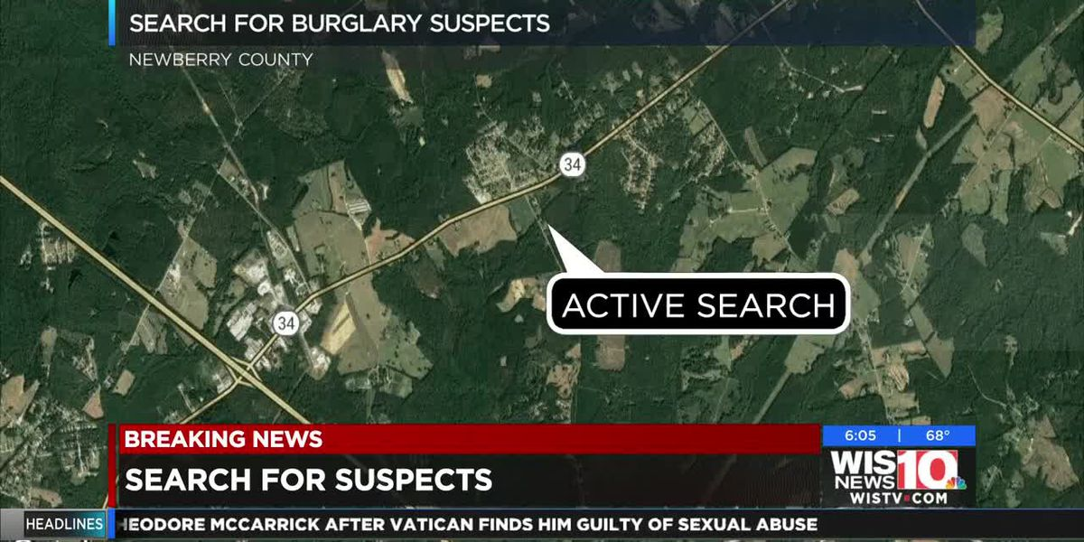 Newberry deputies searching for 3 suspects near Oxner Road and Highway 34