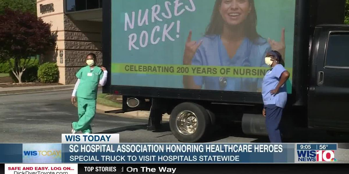 WIS TODAY: Laura Hewitt discusses SC hospitals and healthcare workers