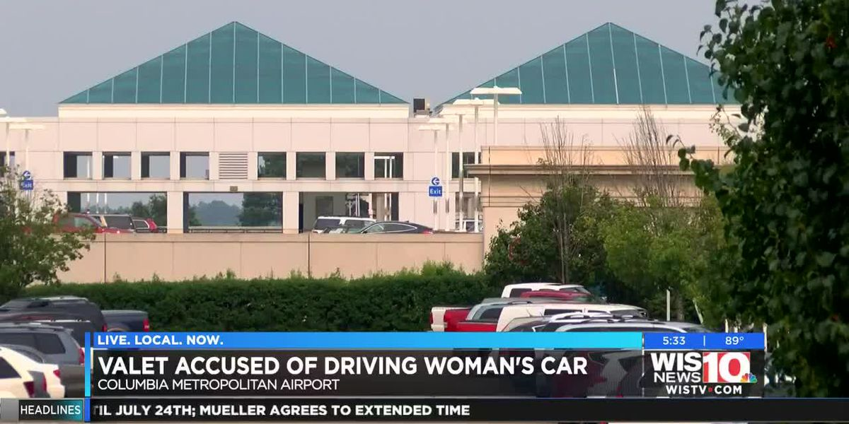 Woman unnerved after valet takes car from Columbia Airport