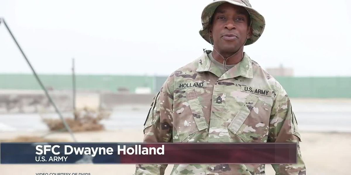 Military Greetings 2020: Sgt. 1st Class Dwayne Holland