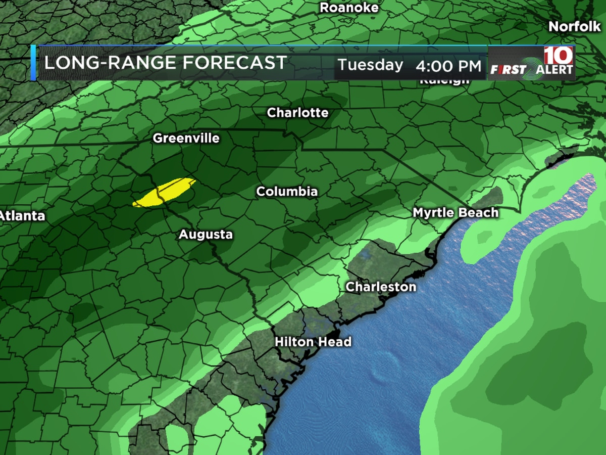 FIRST ALERT: More heavy rain is headed our way!