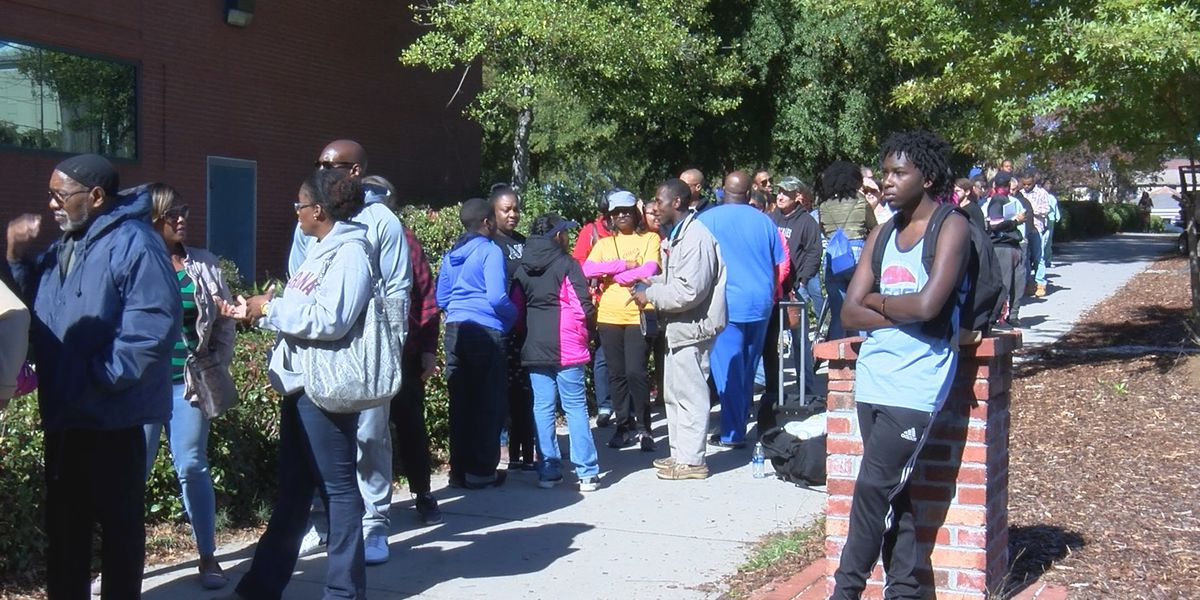 'This is the busiest we've ever been,' midterm voting continues to surge in two Midlands counties