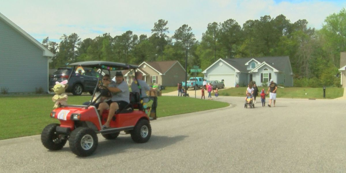 'It gives the kids hope:' Conway area neighborhood celebrates social distancing parade
