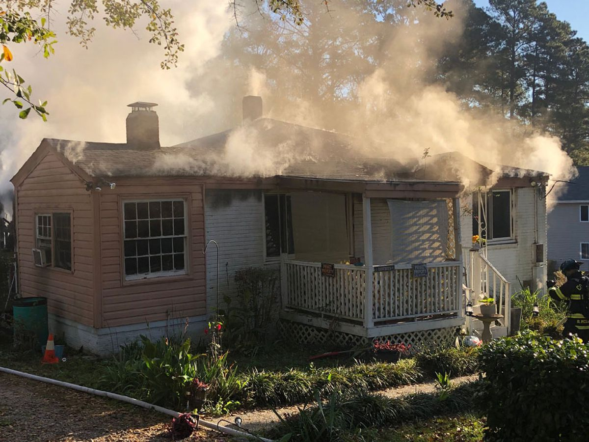 Colleton Street house fire caused by overloaded surge protector, investigators say