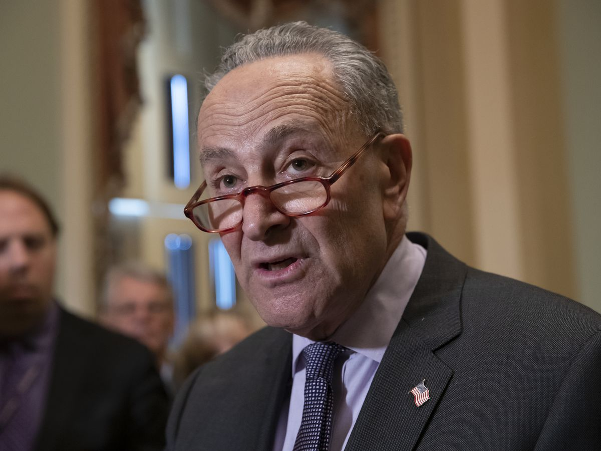 The Latest: Schumer says Trump is lying about voter fraud