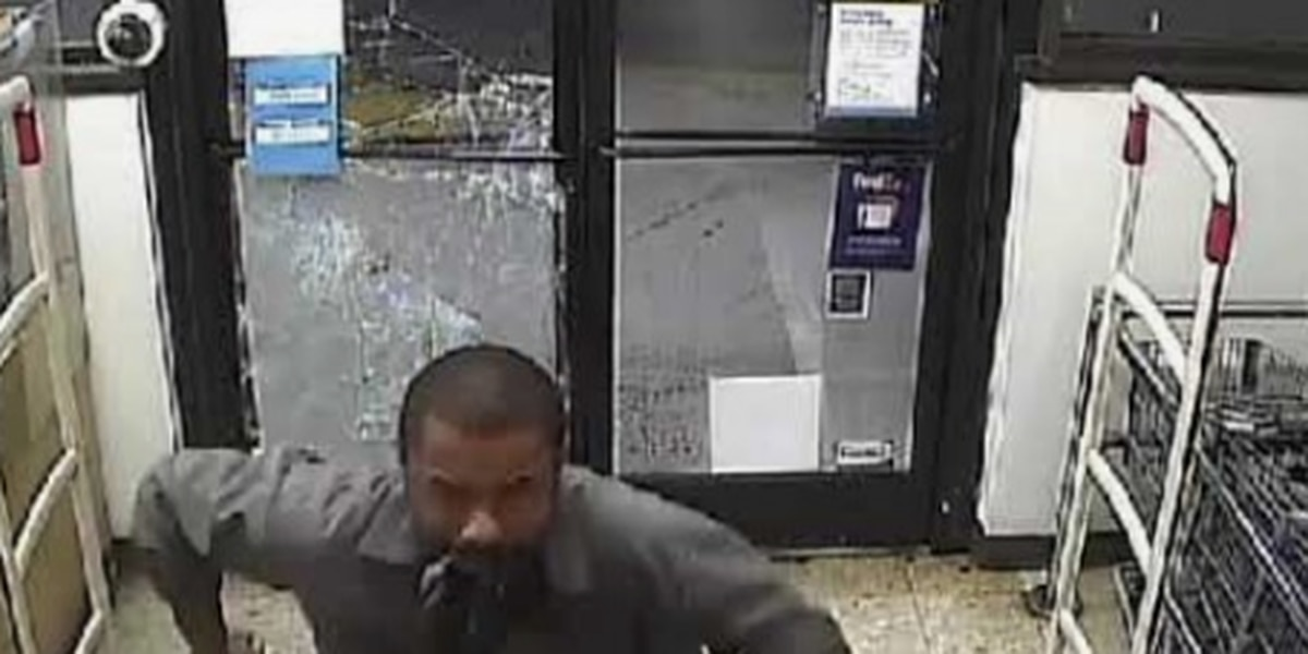 RCSD searching for burglary suspect who broke front glass door of Walgreens