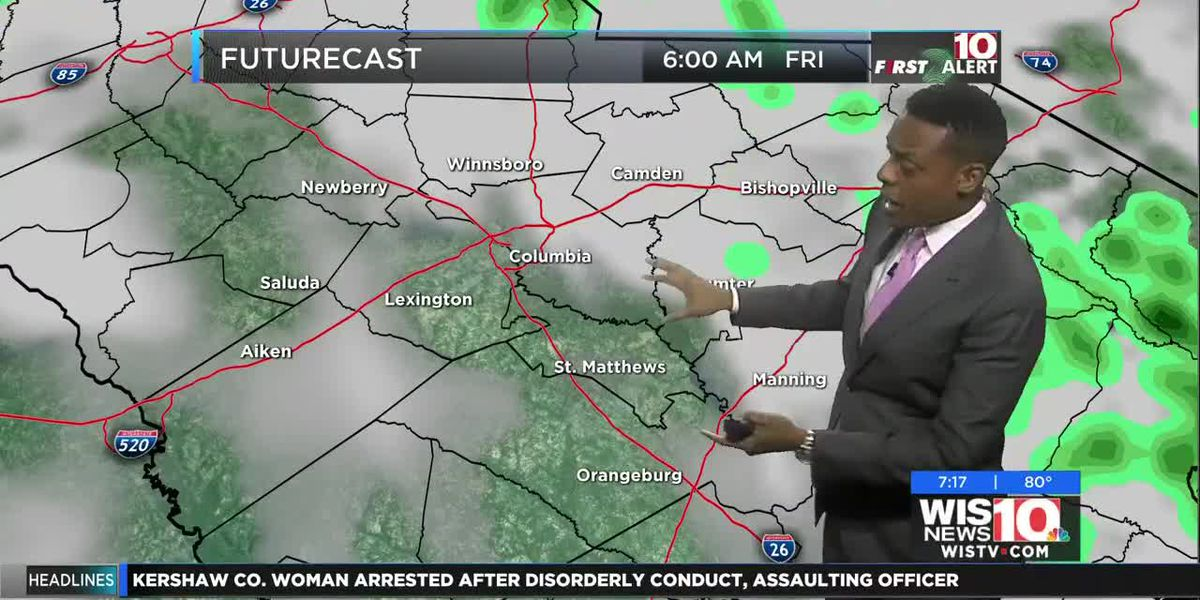 Dominic Brown evening forecast