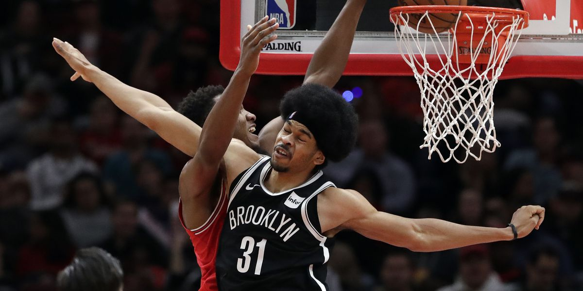 Nets hang on to beat Bulls 96-93, extend winning streak to 7