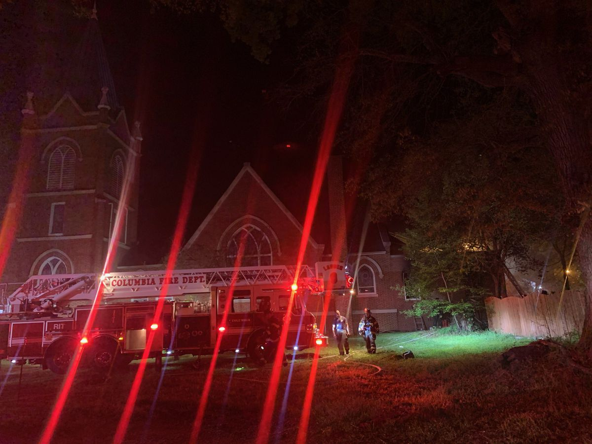 ATF offers reward for information in connection with Columbia church fire