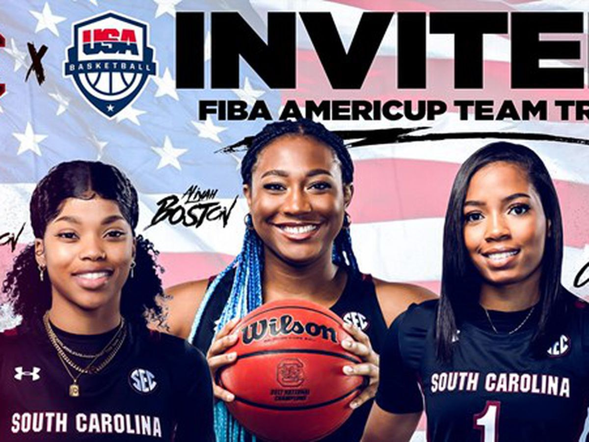 Gamecock Trio Invited to USA Basketball Team Trial