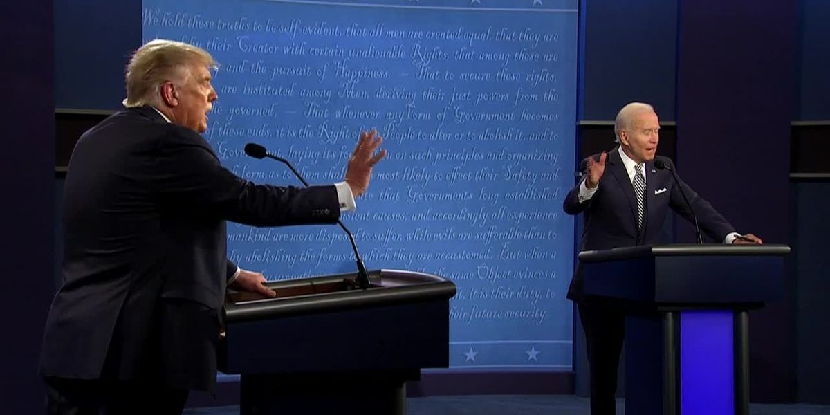 SC voters react to 'dumpster fire' first Presidential debate of 2020 General Election