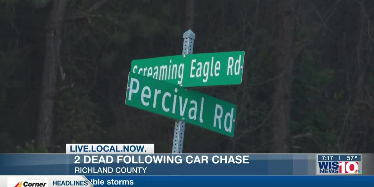2 dead after chase ends in crash on Screaming Eagle Road