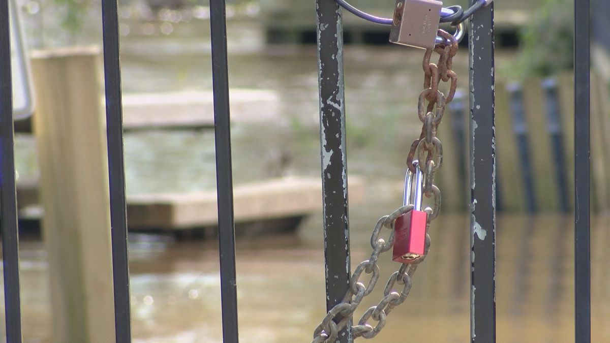 Rising water levels close more portions of popular river walks