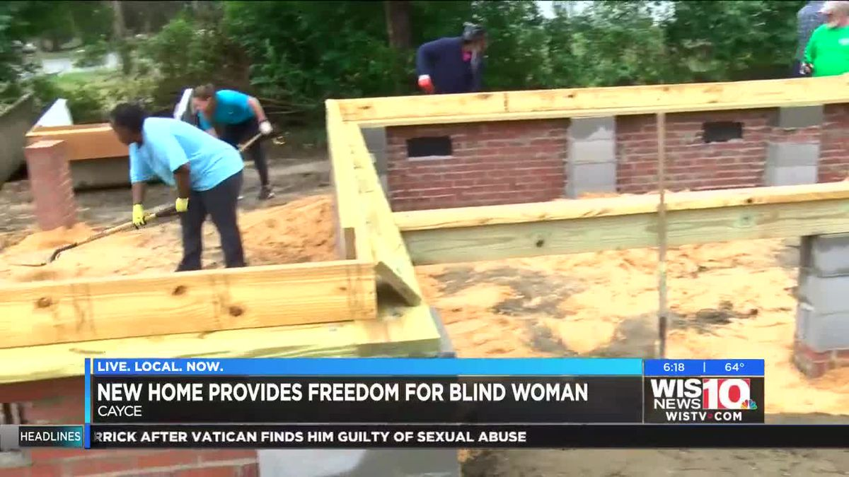 Midlands woman accomplishes dream with help from Habitat for Humanity