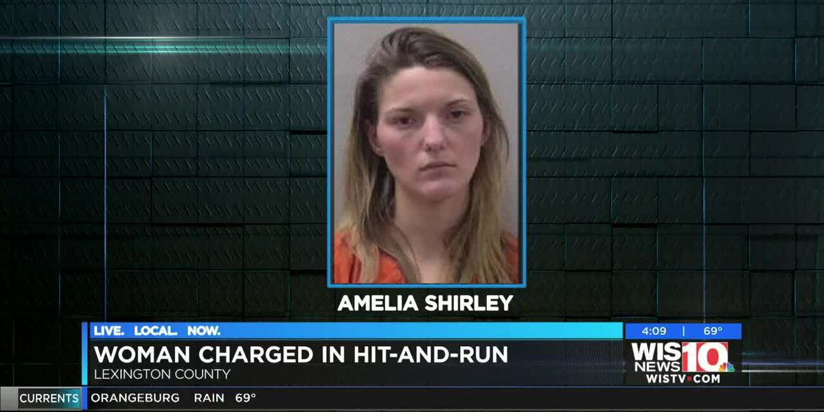 SCHP: Woman arrested for leaving scene of hit-and-run in Lexington Co. earlier this week