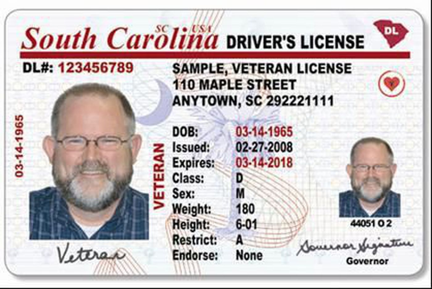 obtaining a south carolina drivers license