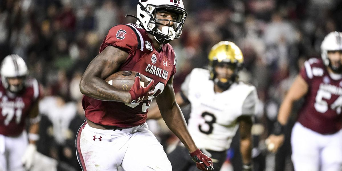 Gamecocks WR Edwards upgraded to questionable for game vs. Clemson