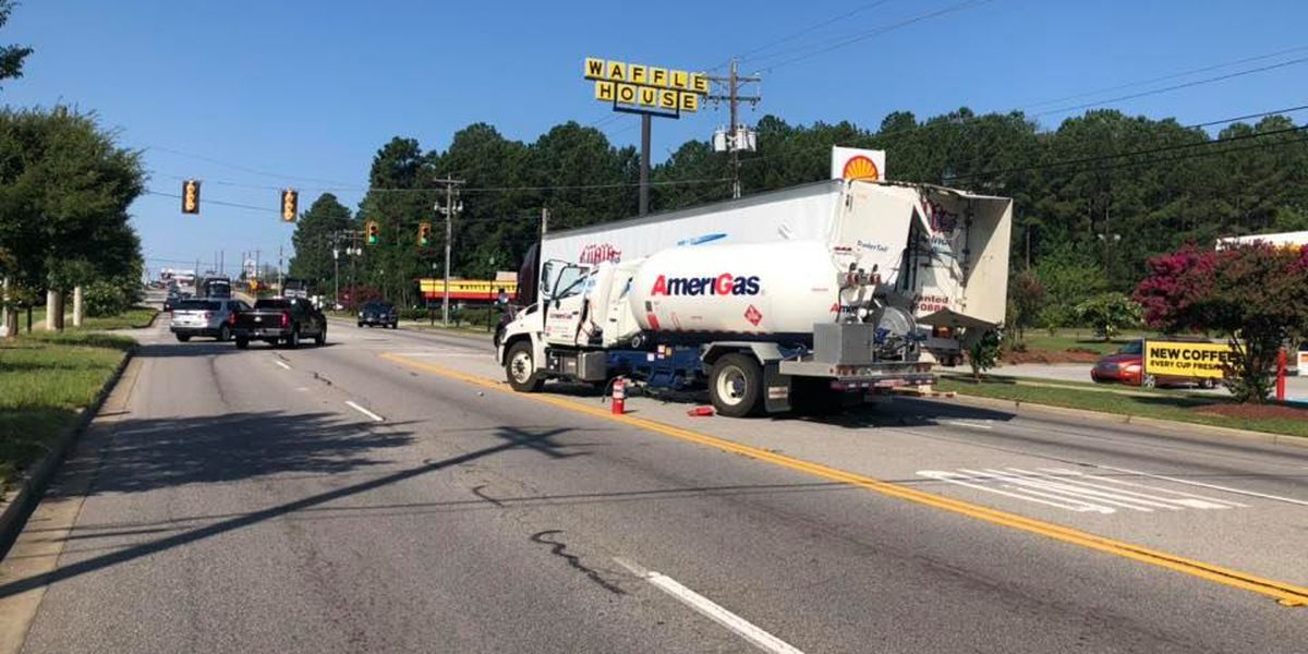 Airport Boulevard reopened after collision