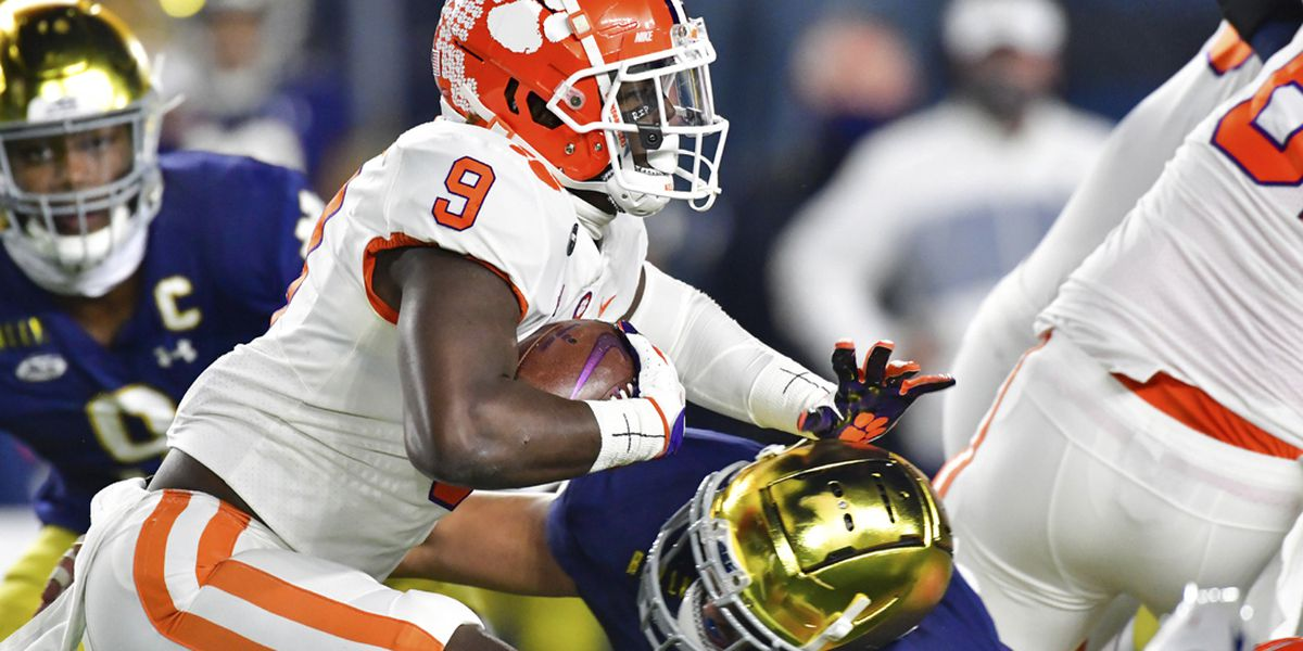 Clemson RB Travis Etienne expands game for final title run