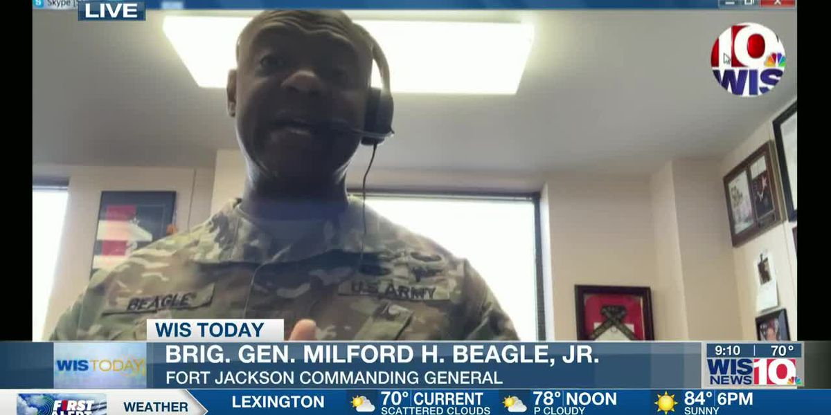 WIS TODAY: Brig. Gen. Beagle discusses the effects of COVID-19 and protests on Ft. Jackson