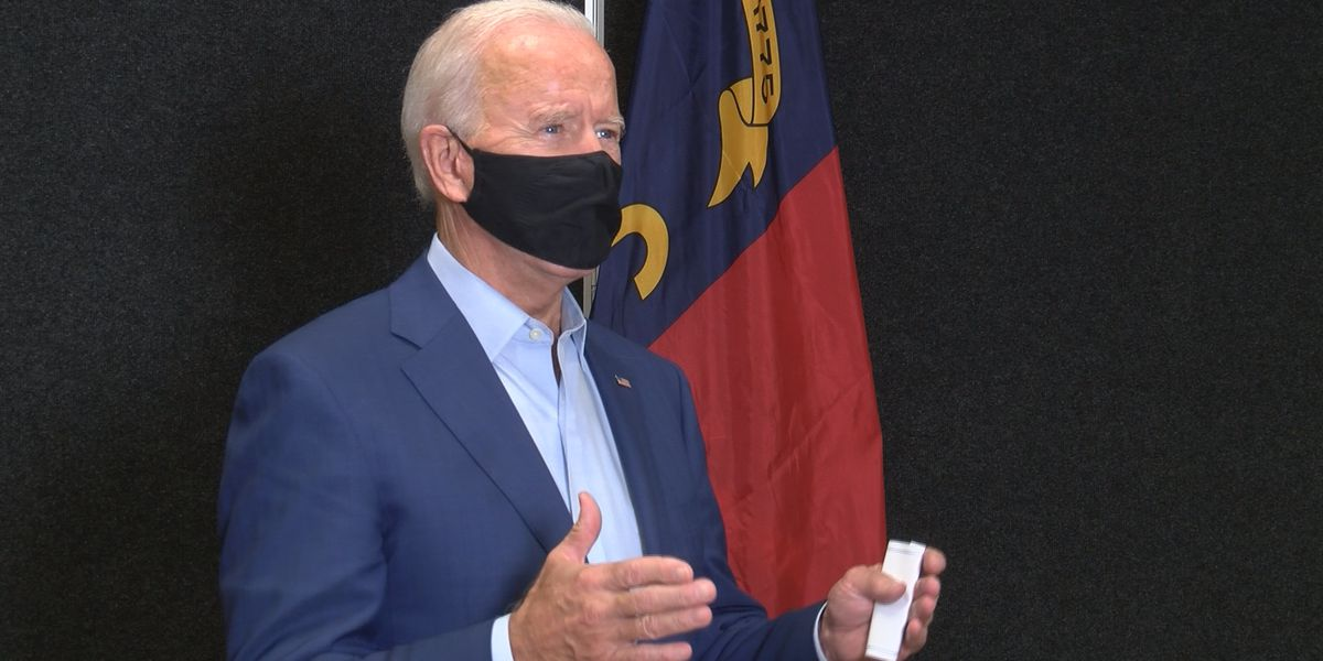 Joe Biden speaks to WBTV about pandemic, election in one-on-one interview