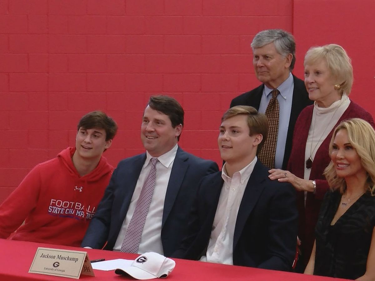 Hammond QB Muschamp signs as preferred walk-on at father's alma mater