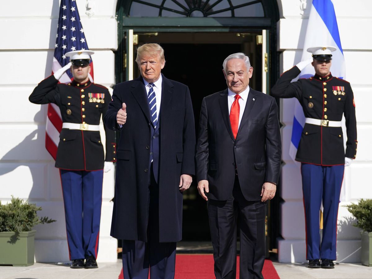 Trump Mideast plan cheers Israelis, angers Palestinians