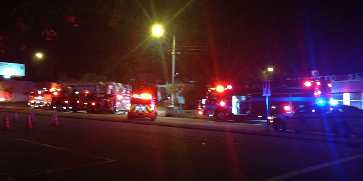 Fire forces portion of Gervais Street to close
