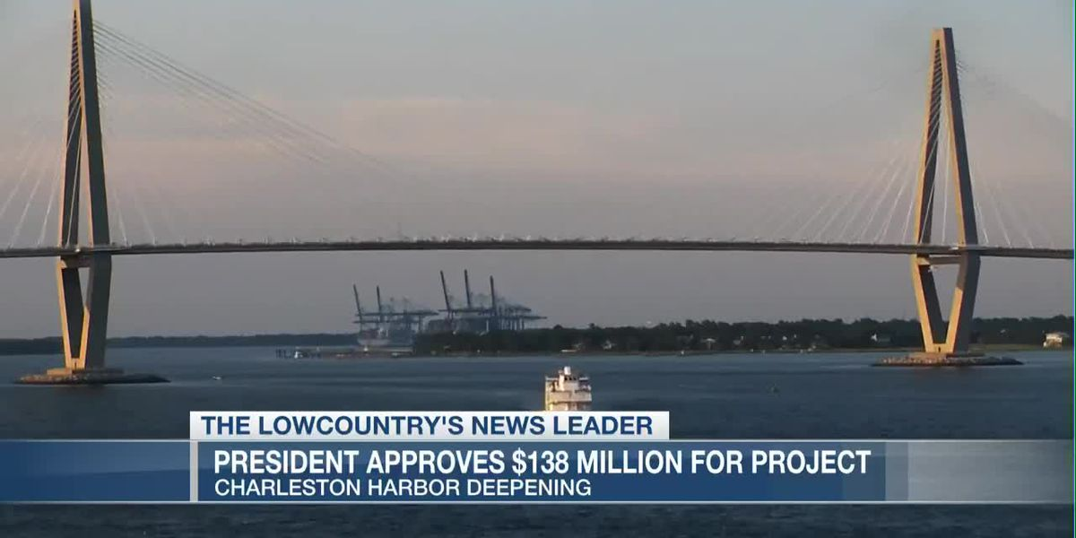VIDEO: Congress, Trump approve $138M to fully fund Charleston Harbor Deepening Project