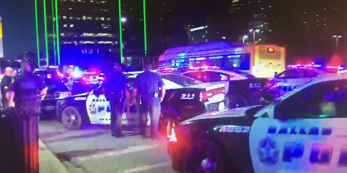 Shots fired at Dallas protest