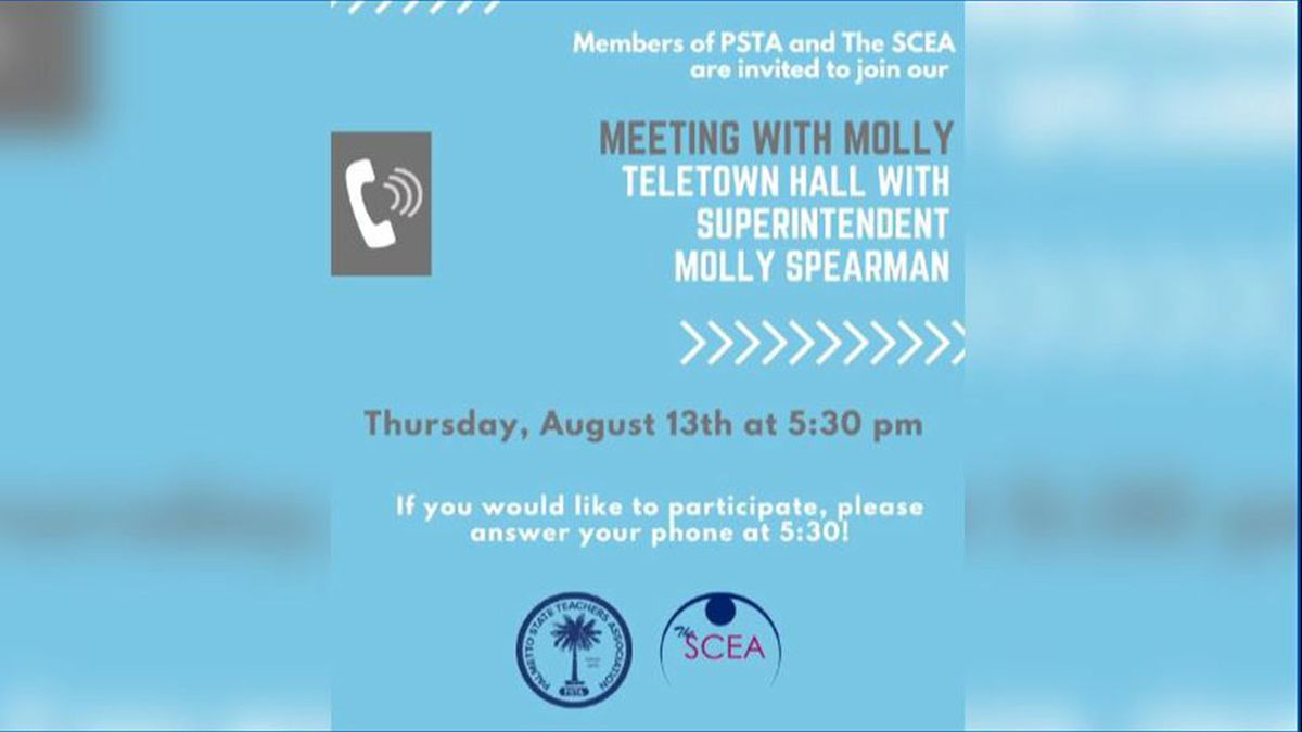 Meeting with Molly: State Superintendent Spearman answers teachers top questions on tele-town hall