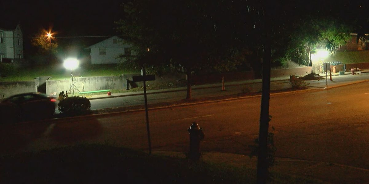 Broken gas line shuts down Gervais Street overnight