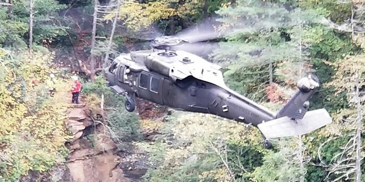 Hiker fell to his death while taking photo atop N.C. waterfall