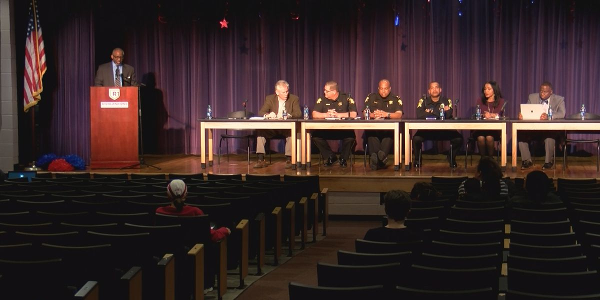 School safety a topic of discussion in Richland School District 1