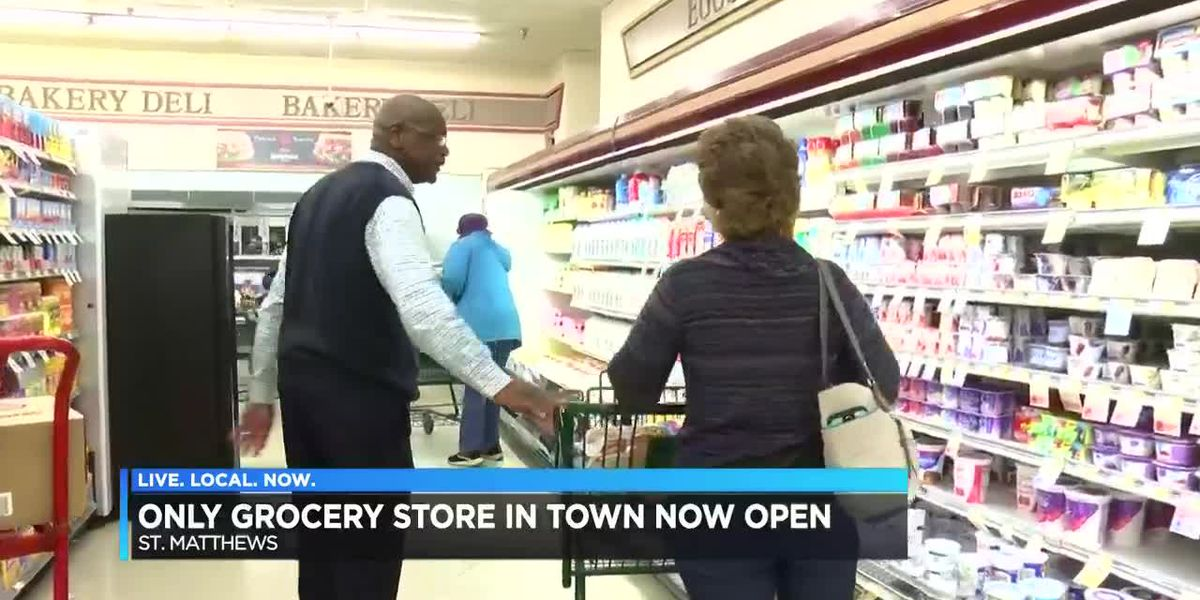 Six months later, a major grocery store returns to Calhoun County