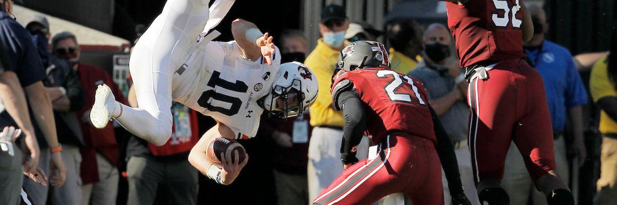 FAIR CATCH: Carolina defense showed toughness needed to win vs. Auburn