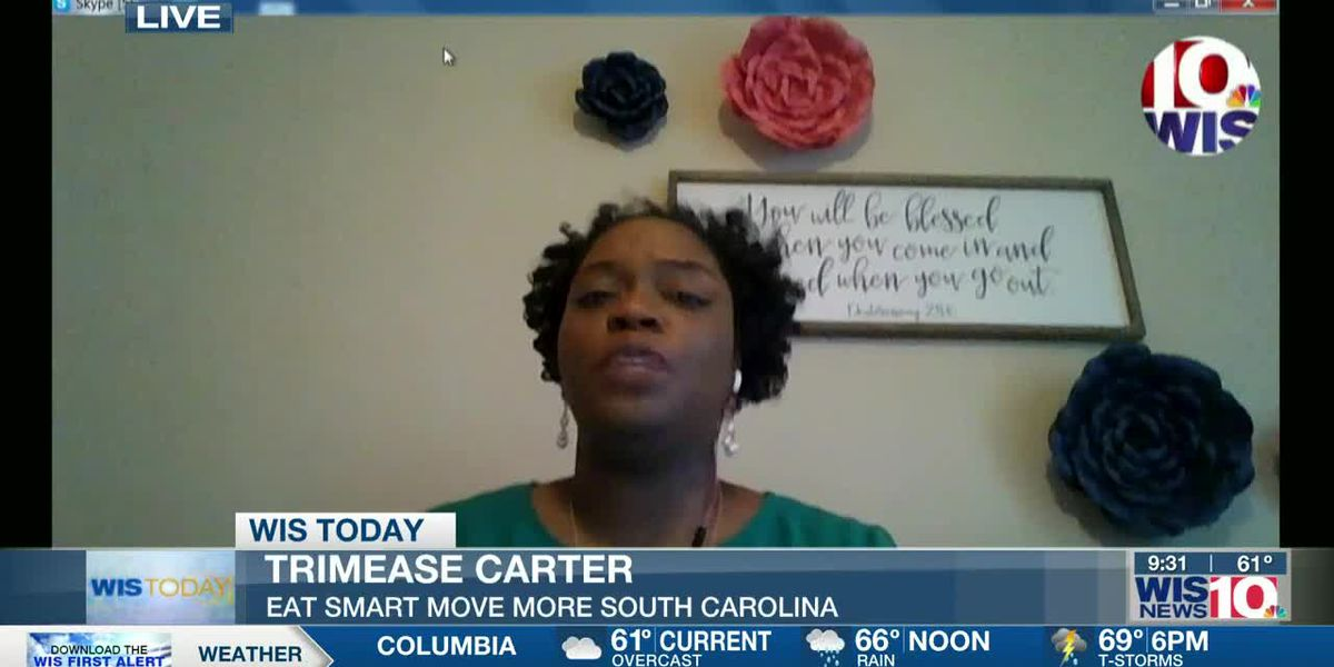 WIS TODAY: Trimease Carter discusses Youth Summit (Eat Smart Move More SC)