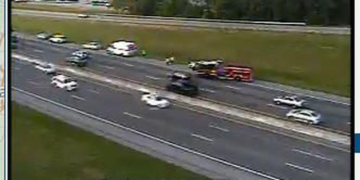 Traffic delays on eastbound I-26