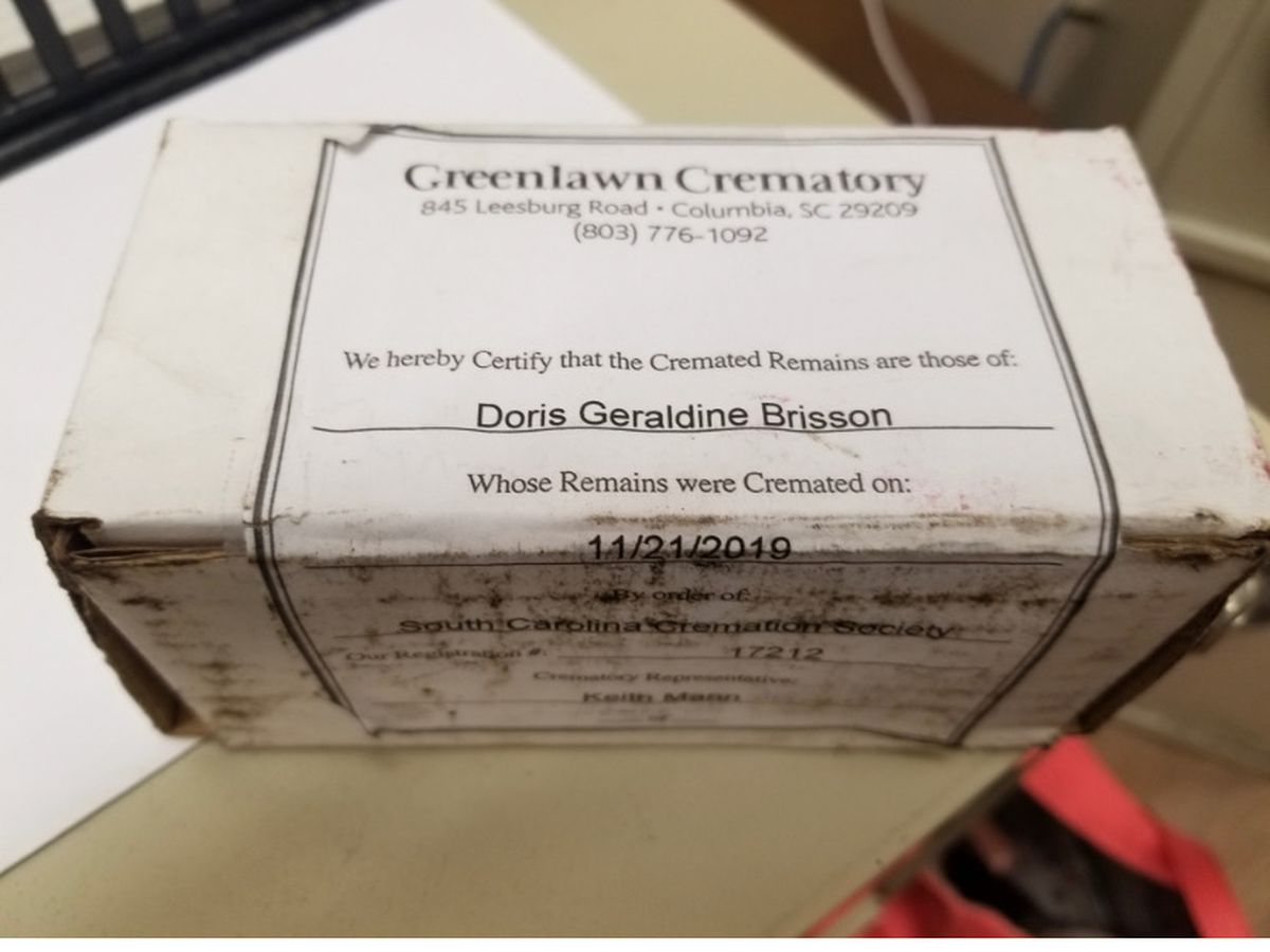 Grandmother's ashes stolen from man's truck 'in the hands of thieves'