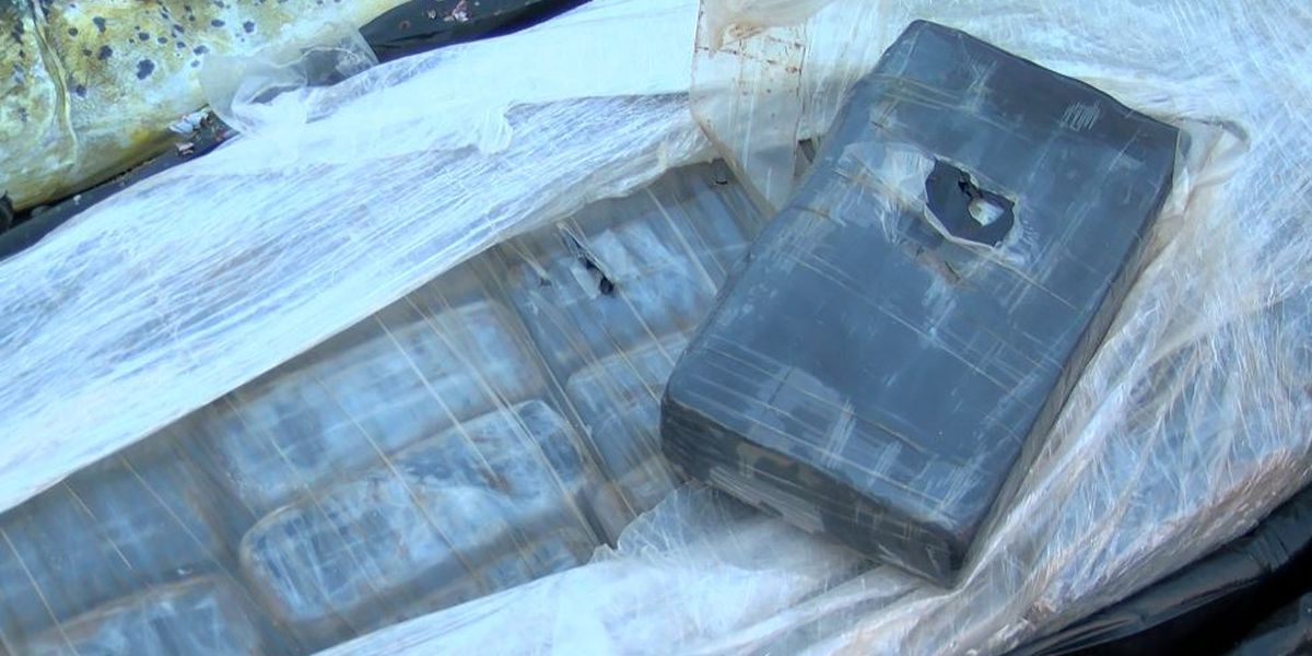Deep sea fishermen pull in big catch of cocaine, worth nearly $1M, off Charleston coast