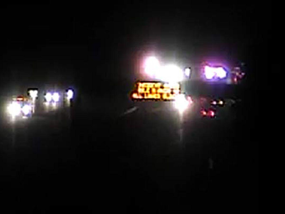 One dead after three-vehicle crash on I-95